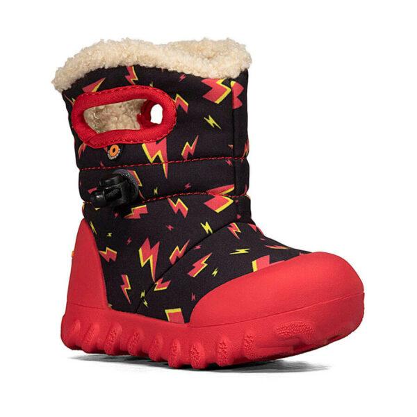 BOGS Footwear cizme de iarnă impermeabile B-MOC Lightning Black Multi