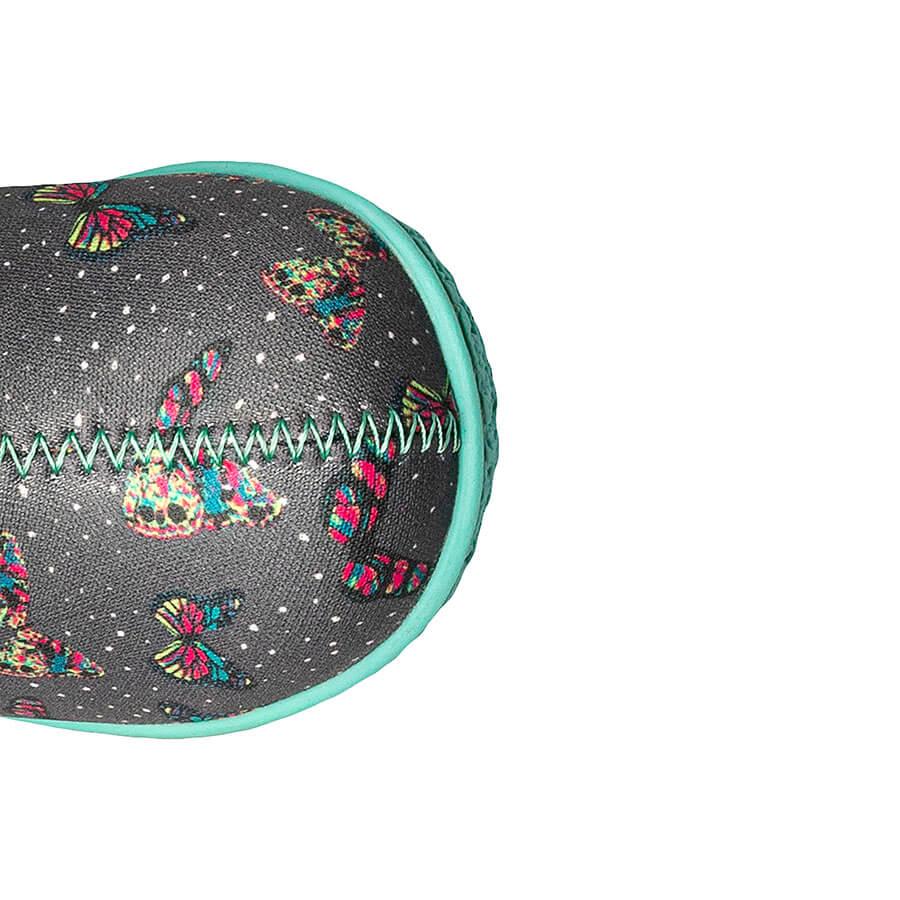 BOGS Footwear cizme de iarnă impermeabile Baby Bogs Butterfly Dark Gray Multi 3