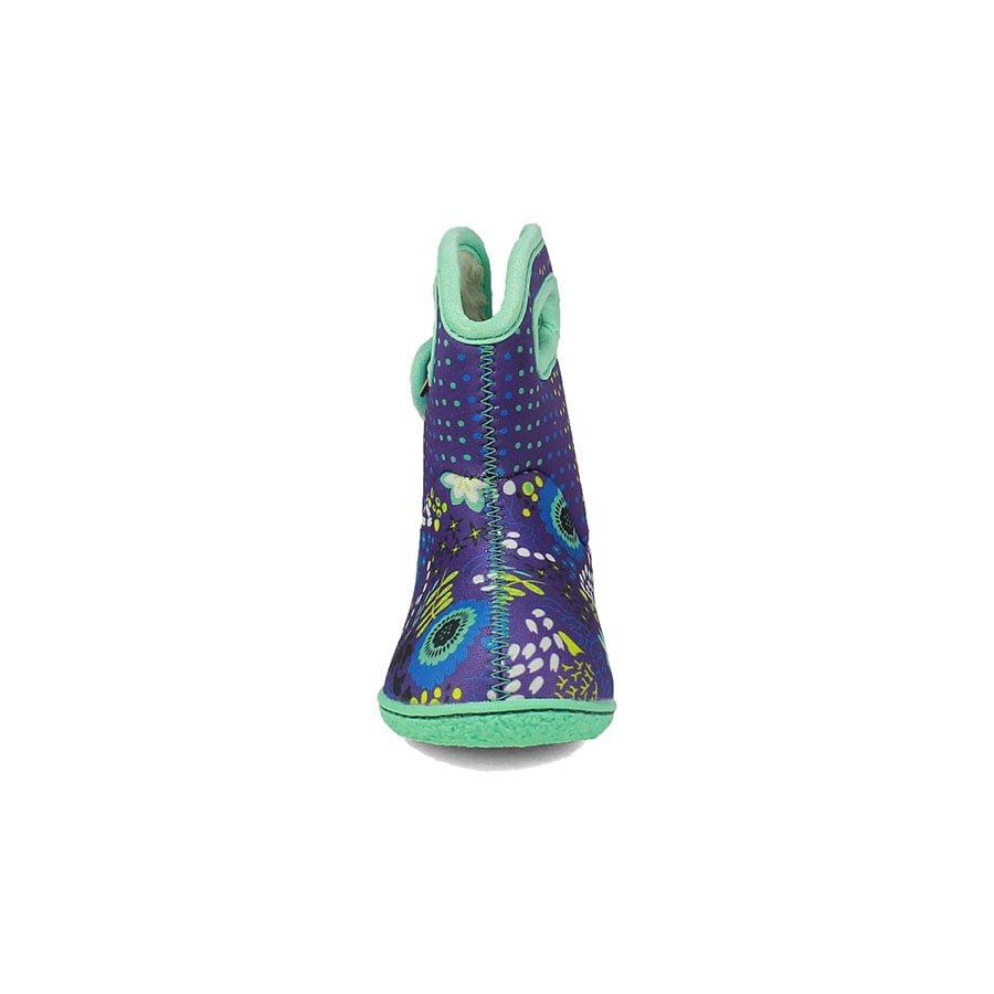 BOGS Footwear cizme de iarnă impermeabile Baby Bogs Reef Violet Multi 2
