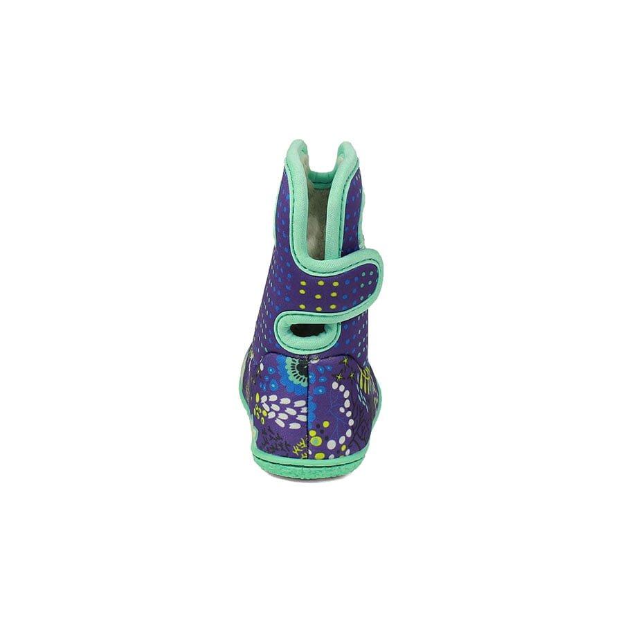 BOGS Footwear cizme de iarnă impermeabile Baby Bogs Reef Violet Multi 4