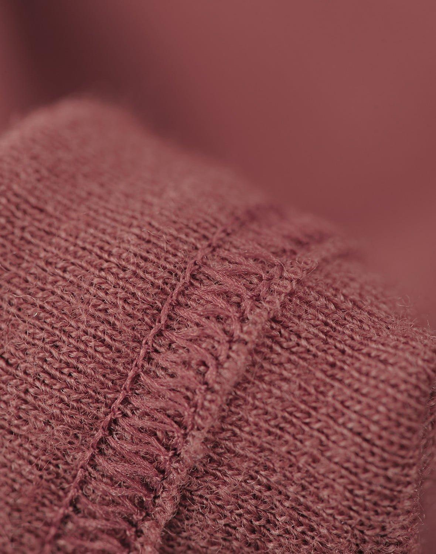 Rochie rouge din lână merinos organică pentru fetiţe Dilling 2