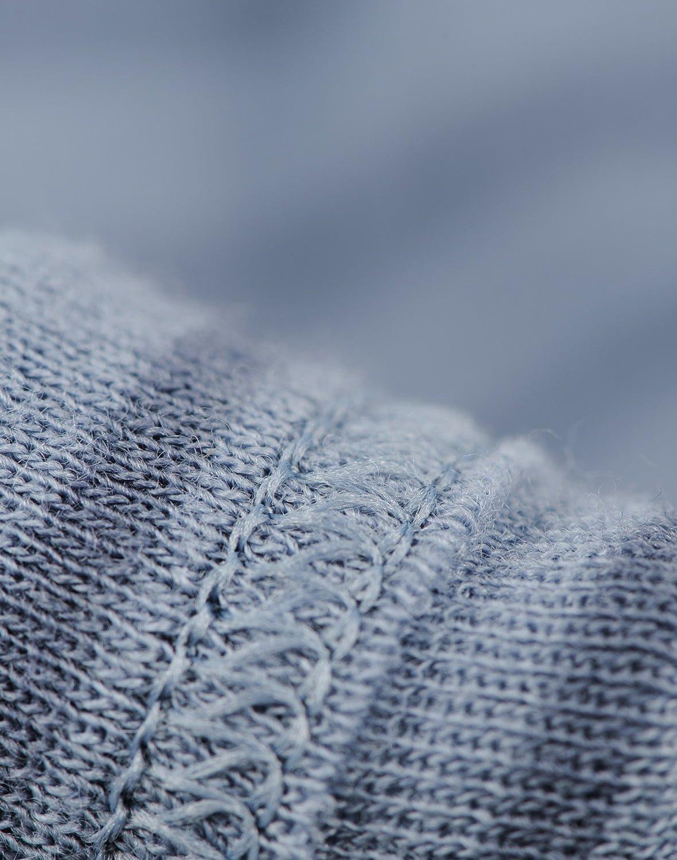 Bluză cu mânecă lungă blue stripes din lână merinos organică pentru bebeluşi Dilling 3