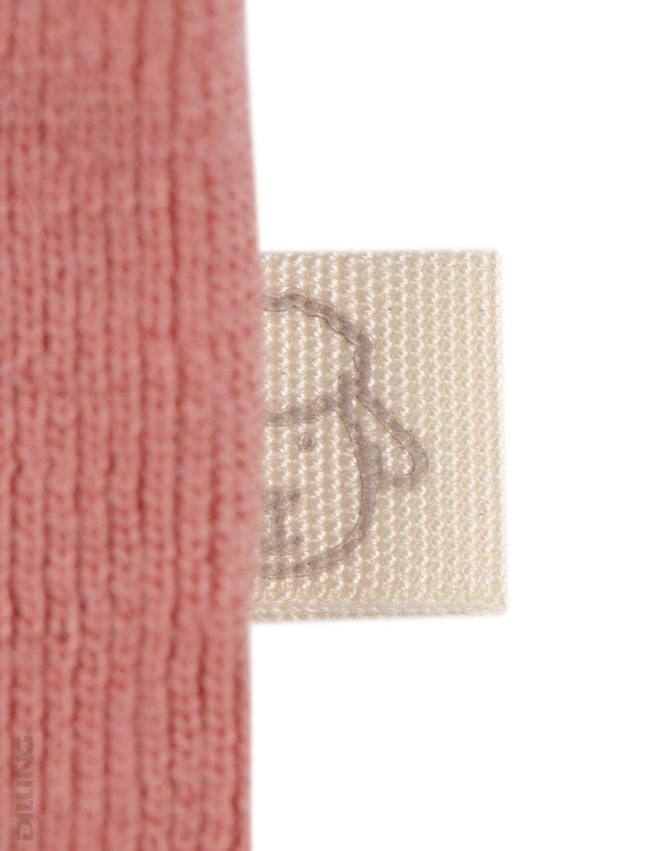 Bluză cu mânecă lungă dark pink din lână merinos organică pentru bebeluşi Dilling 3