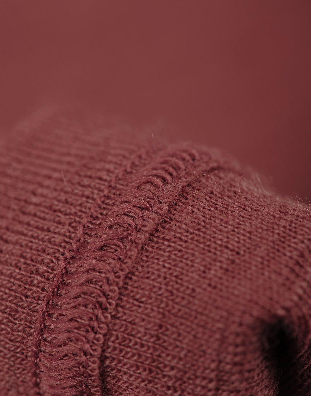 Bluză cu mânecă lungă rouge din lână merinos organică pentru bebeluşi Dilling 1