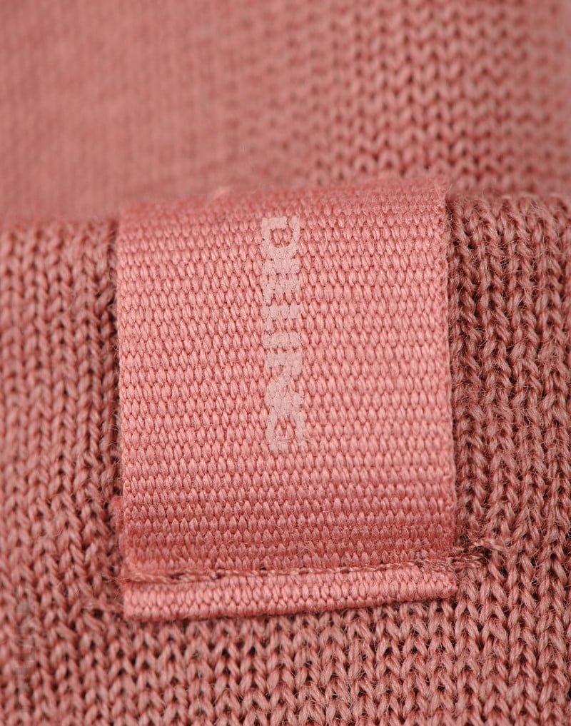 Căciulă beanie din lână merinos organică terry dark pink Dilling 3