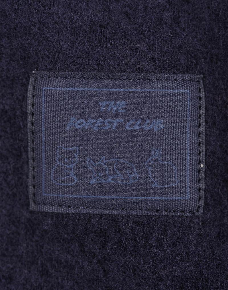 Jachetă din lână merinos organică fleece pentru copii Blue Dilling 3