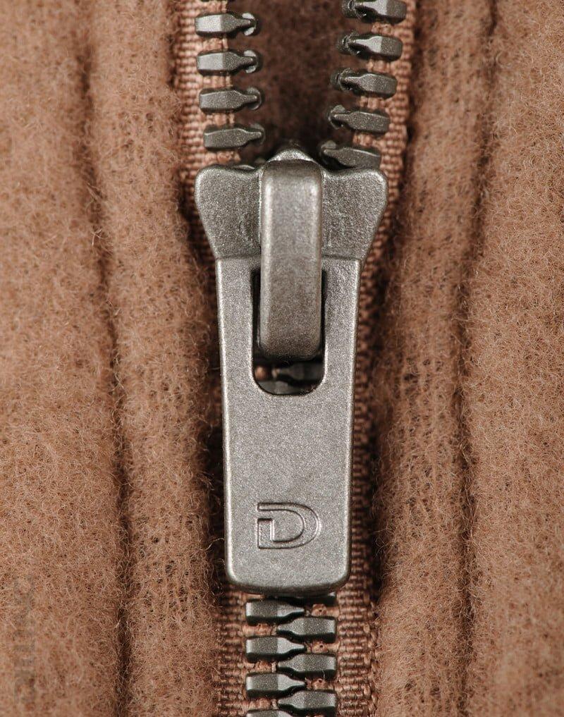 Jachetă din lână merinos organică fleece pentru copii cinnamon Dilling 3