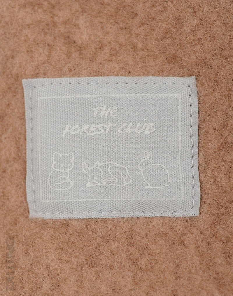 Jachetă din lână merinos organică fleece pentru copii cinnamon Dilling 4
