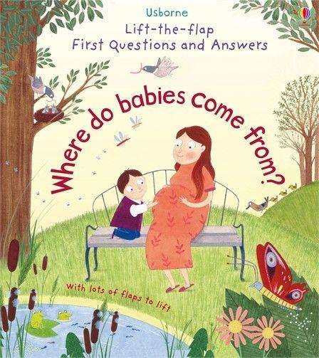 Lift-the-flap Where do babies come from - Katie Daynes Usborne Publishing carte cu clapete