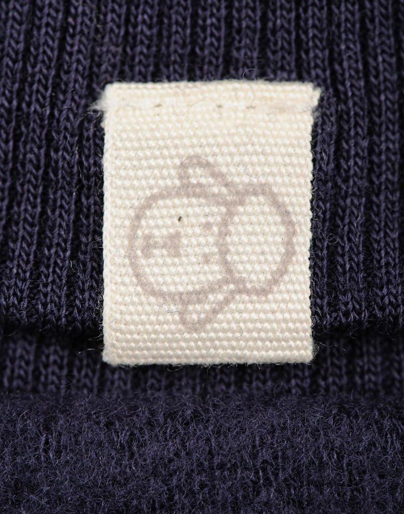 Mănuși pentru bebeluși din lână merinos organică fleece Blue Dilling 3