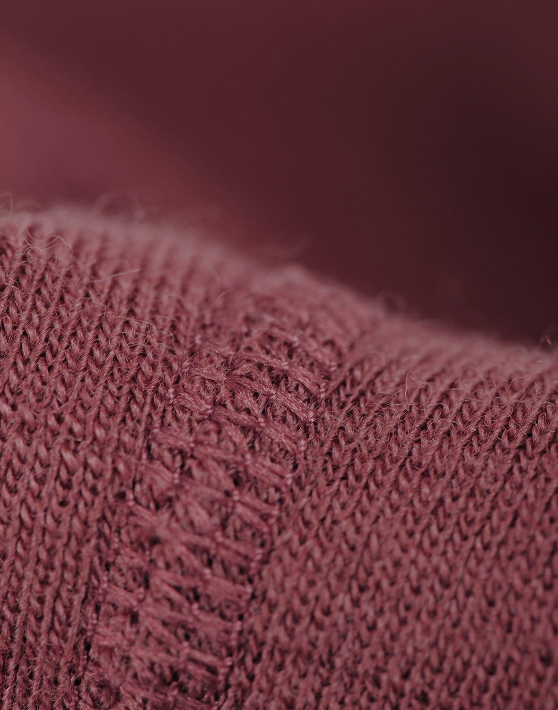 Pantaloni colanţi rouge din lână merinos organică pentru bebeluşi Dilling 1