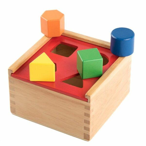 Forme colorate în cutie Viga
