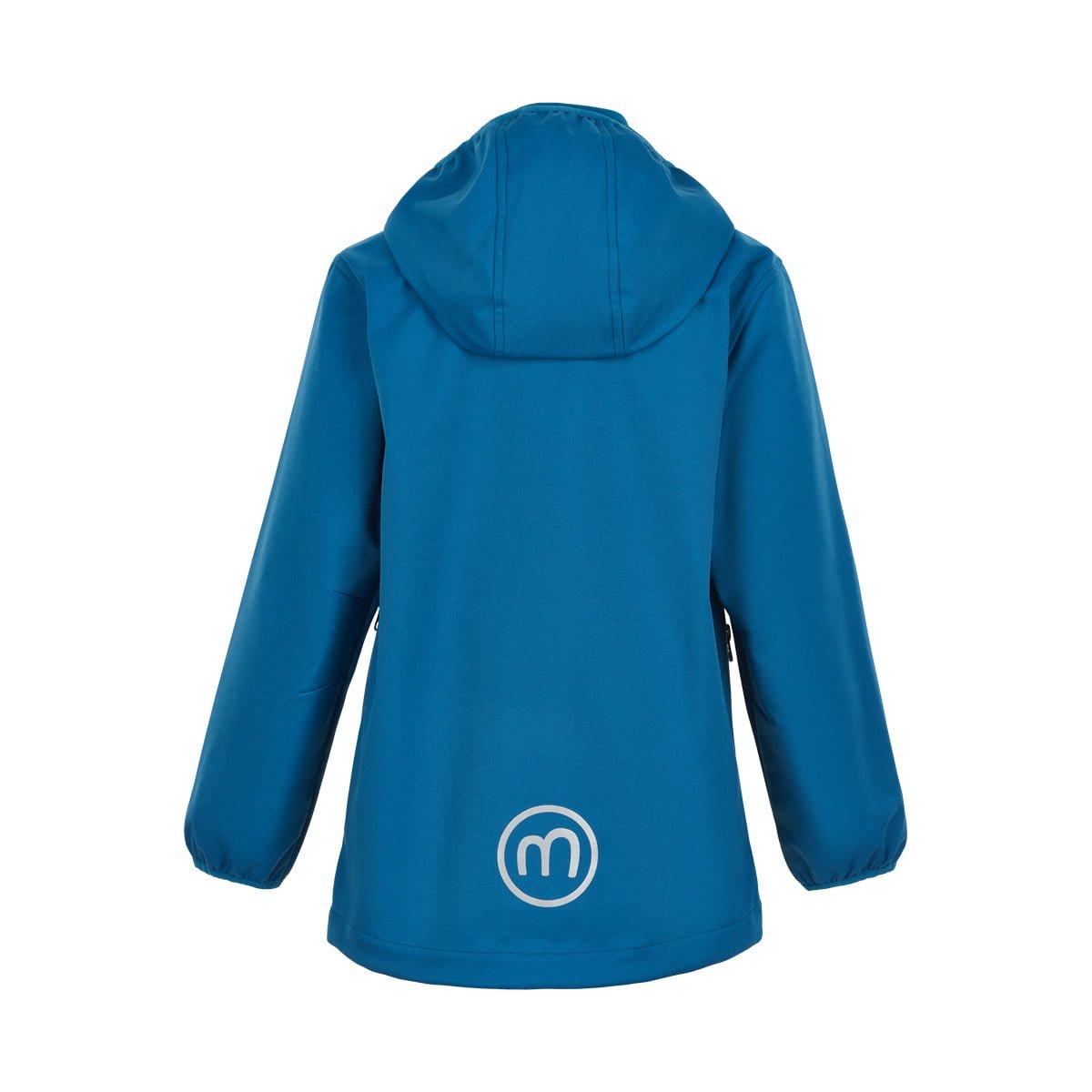 Jachetă de ploaie și vânt (impermeabilă) din softshell Dark Blue Minymo 2