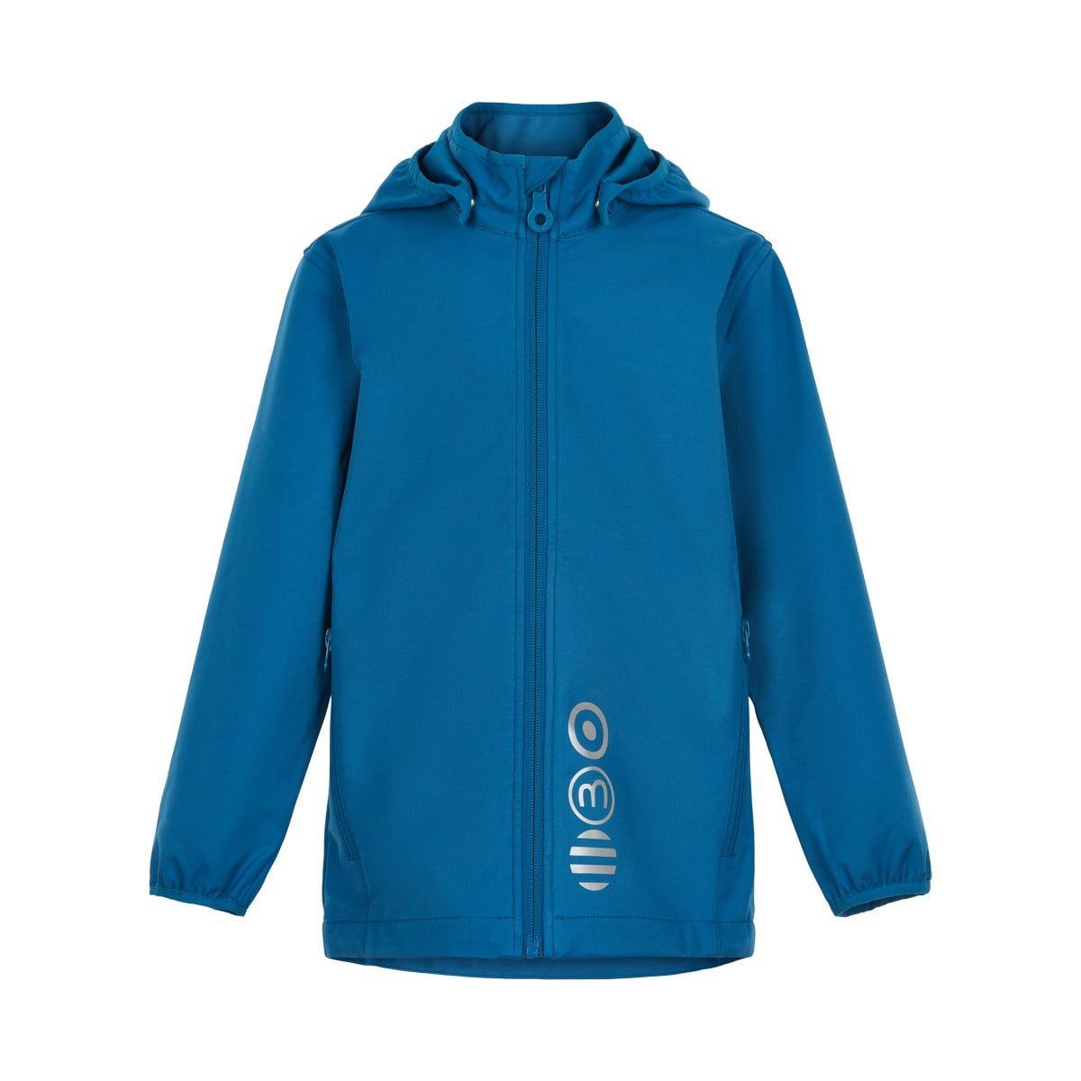Jachetă de ploaie și vânt (impermeabilă) din softshell Dark Blue Minymo