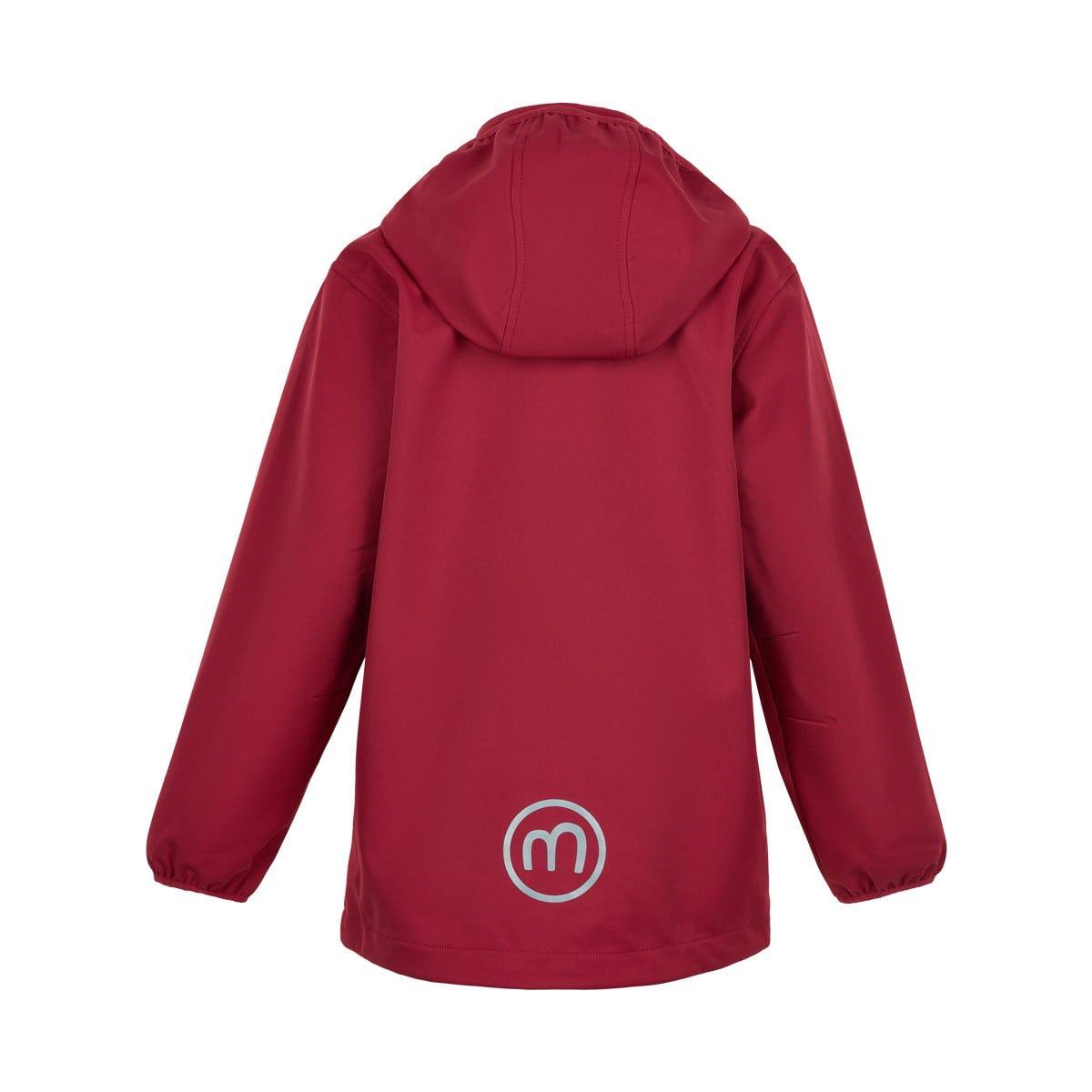 Jachetă de ploaie și vânt (impermeabilă) din softshell Deep Claret Minymo 2