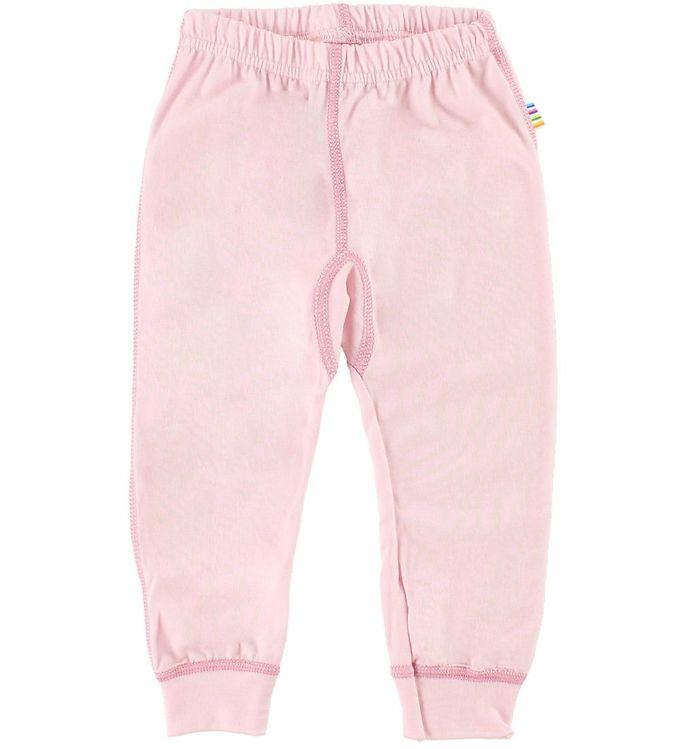 Pantaloni colanţi din lână merinos pentru copii Pink Joha