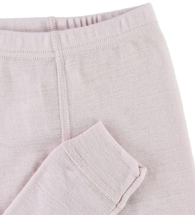 Pantaloni colanţi din lână merinos pentru copii Rose Joha 2