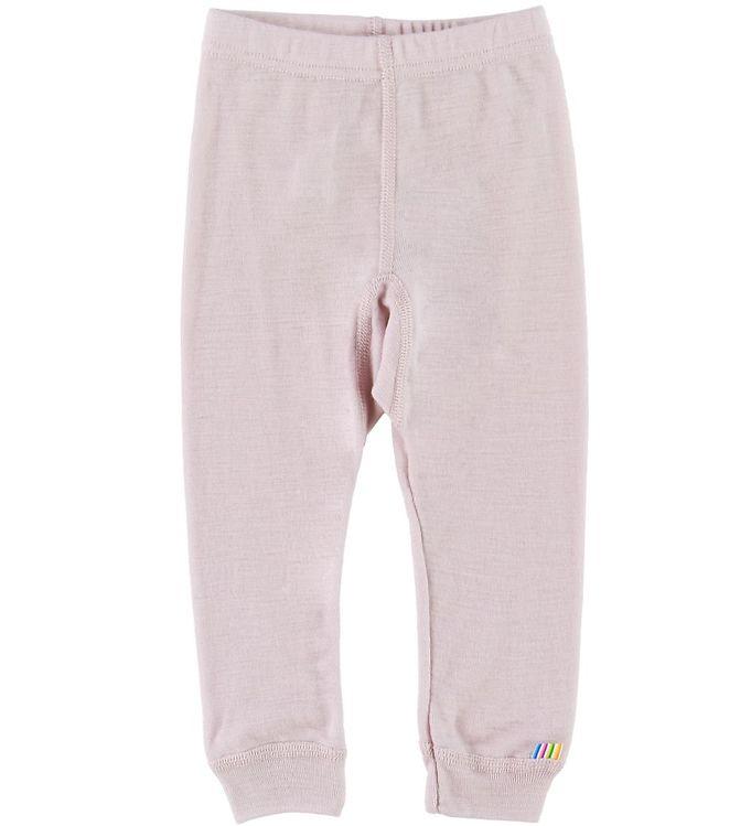 Pantaloni colanţi din lână merinos pentru copii Rose Joha