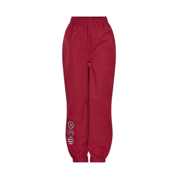 Pantaloni de ploaie și vânt (impermeabili) din softshell Deep Claret Minymo
