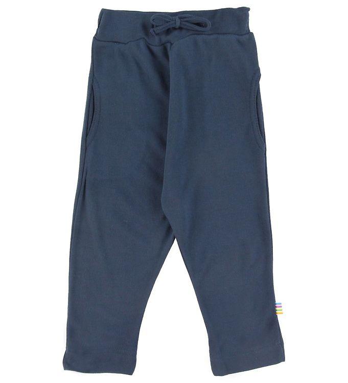 Pantaloni din bambus organic pentru copii Navy Joha