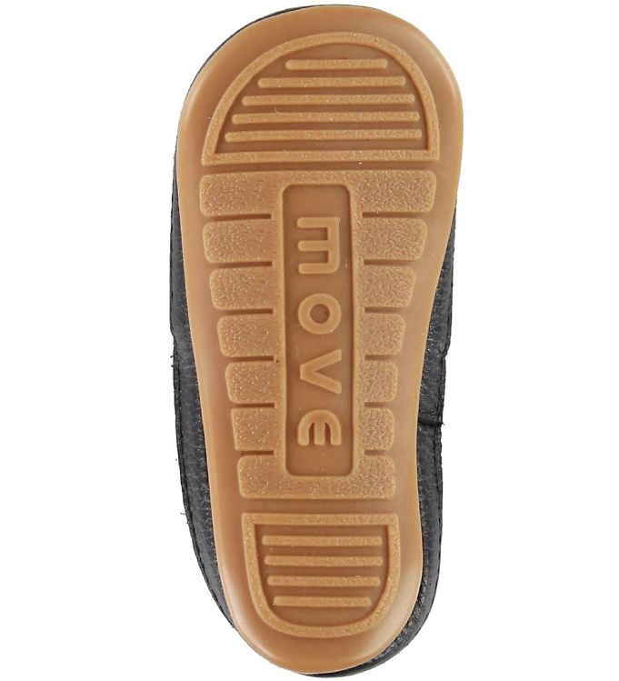 Pantofi barefoot cu elastic din piele naturală pentru primii pași Black Move By Melton 3