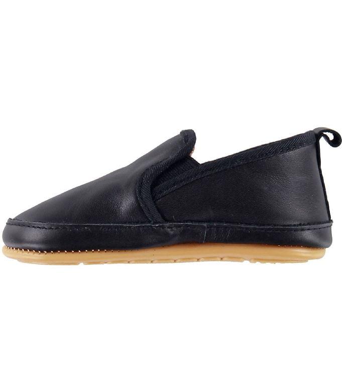 Pantofi barefoot cu elastic din piele naturală pentru primii pași Navy Move By Melton 2