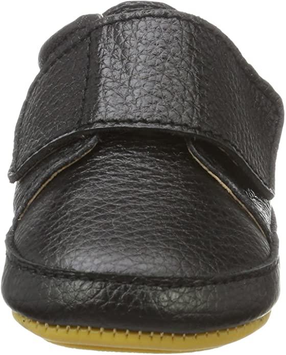 Pantofi barefoot din piele naturală pentru primii pași Black Move By Melton 3
