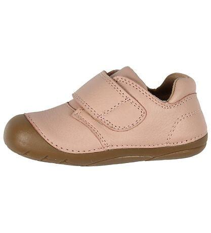 Pantofi barefoot din piele naturală pentru primii pași Chintz Rose By Melton 2