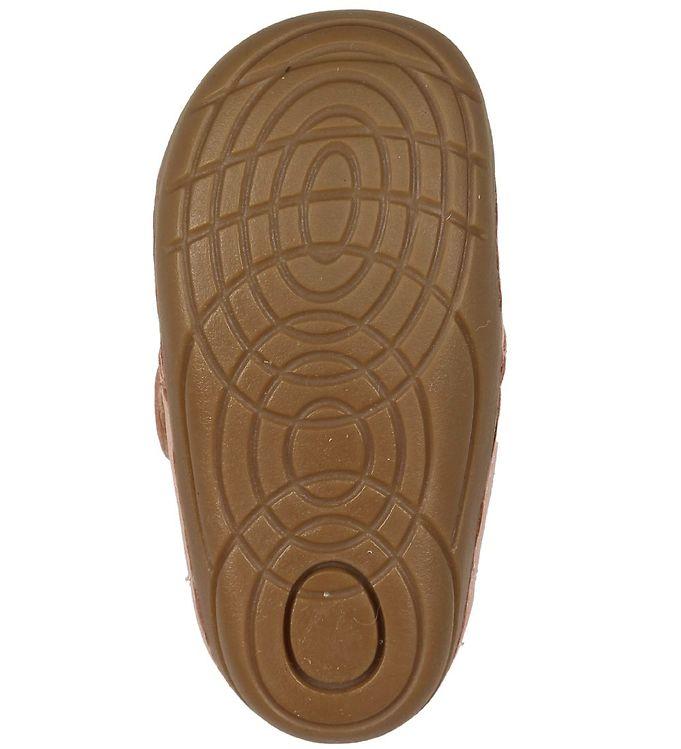 Pantofi barefoot din piele naturală pentru primii pași Chintz Rose By Melton 4
