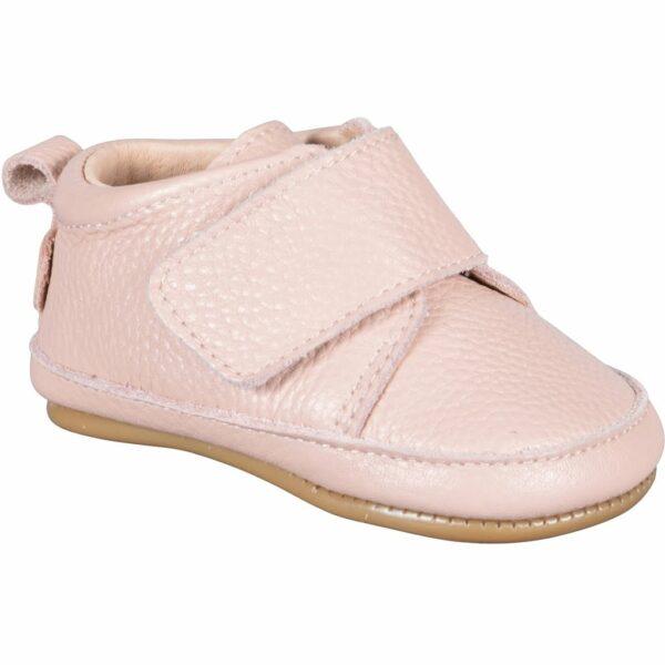 Pantofi barefoot din piele naturală pentru primii pași Chintz Rose Move By Melton