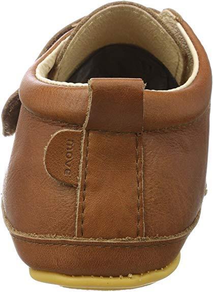 Pantofi barefoot din piele naturală pentru primii pași Cognac Move By Melton 3