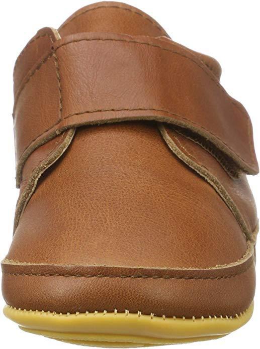 Pantofi barefoot din piele naturală pentru primii pași Cognac Move By Melton 2