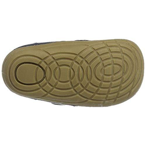 Pantofi barefoot din piele naturală pentru primii pași Dusty Olive By Melton 5