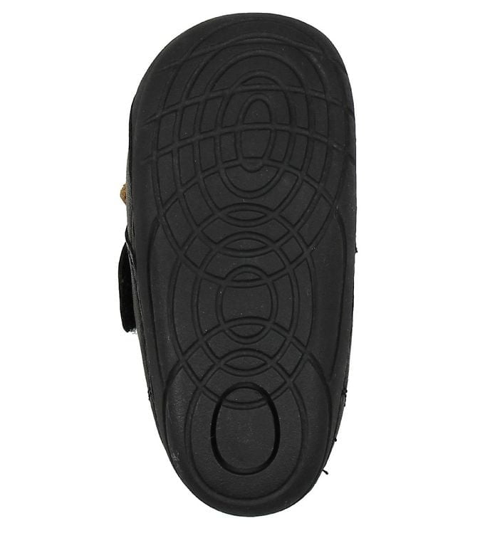 Pantofi barefoot din piele pentru primii pași Black Move By Melton 4
