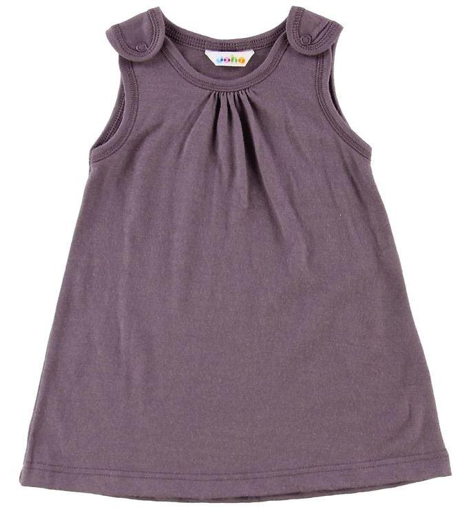 Rochie din lână merinos Purple Joha