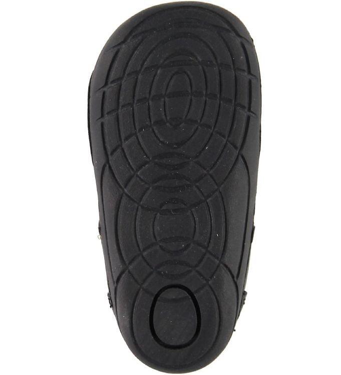 Sandale barefoot din piele naturală pentru primii pași Black By Melton 4