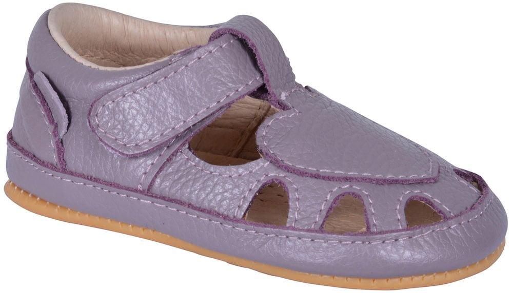 Sandale barefoot din piele naturală pentru primii pași Quail Move By Melton