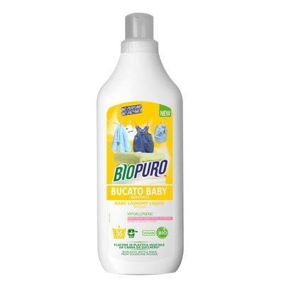 Detergent hipoalergen pentru hăinuțele copiilor bio 1L Biopuro