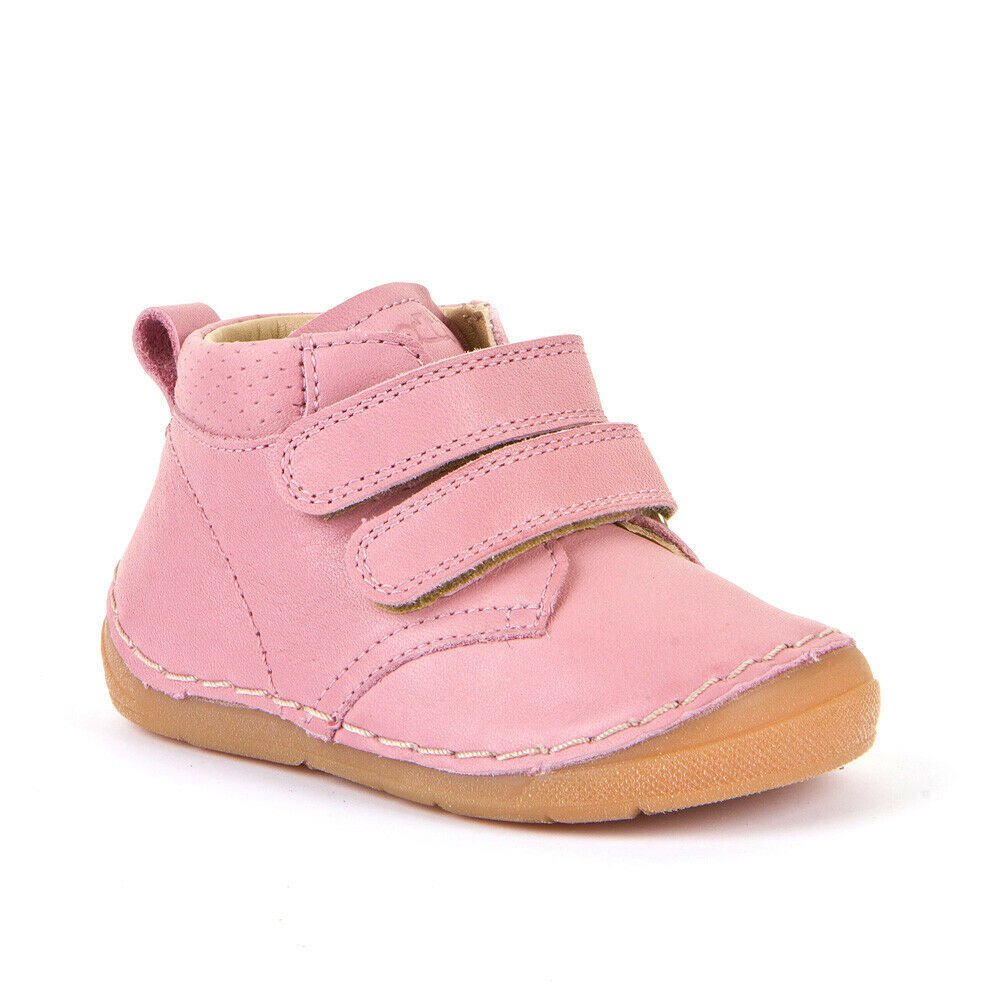 Pantofi din piele cu talpă extra flexibilă pink Froddo