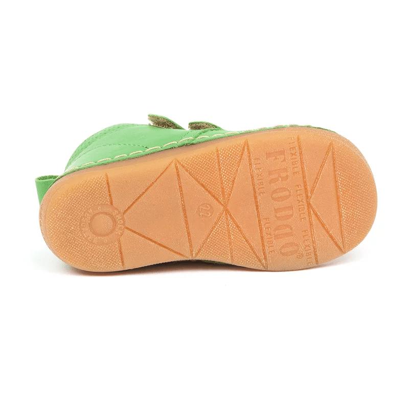 Ghetuţe din piele cu talpă extra flexibilă Green Froddo 4