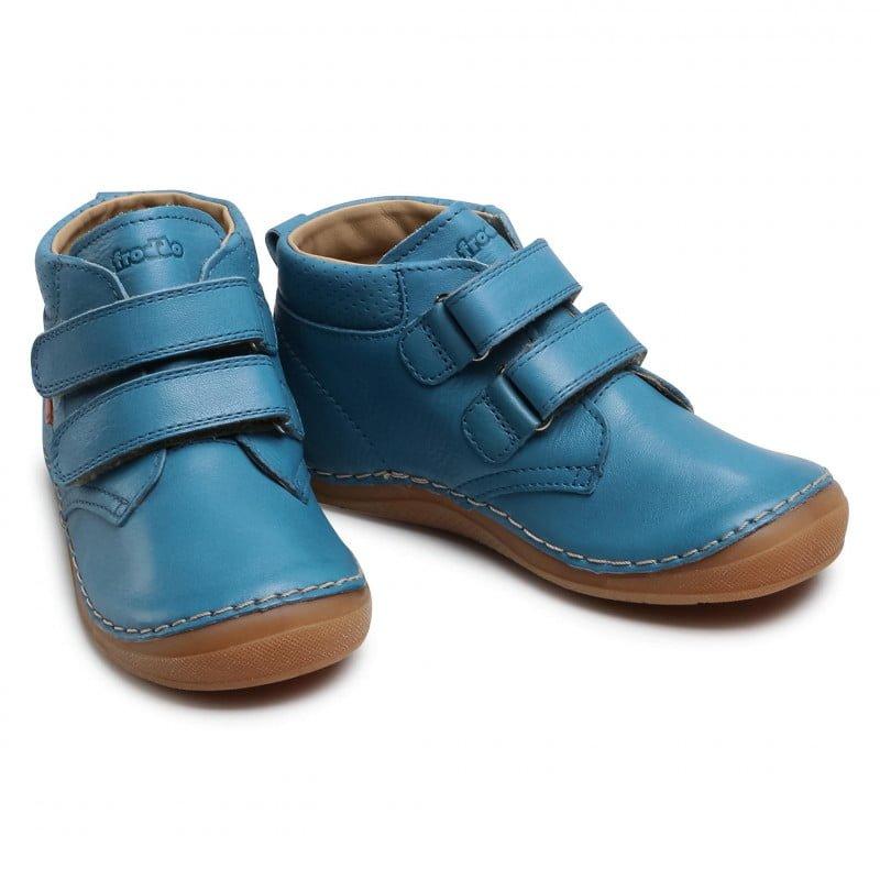 Ghetuţe din piele cu talpă extra flexibilă Jeans Froddo 5