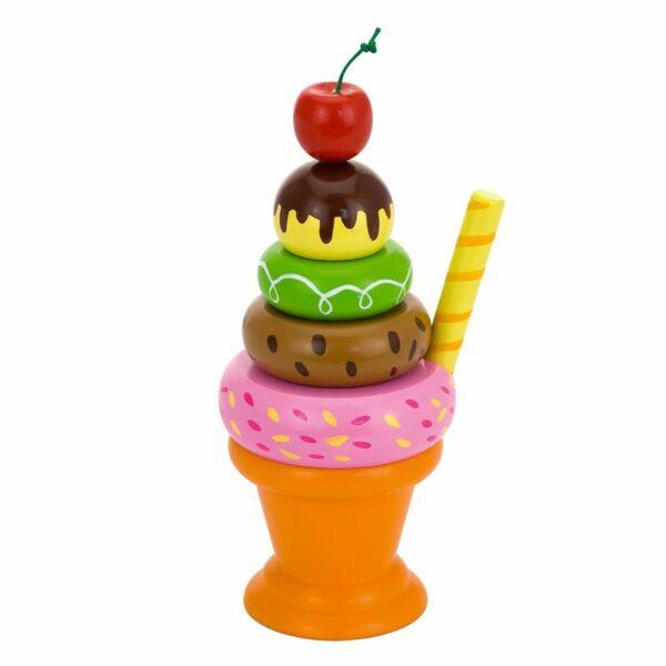 Înghețată melba din lemn Montessori Viga