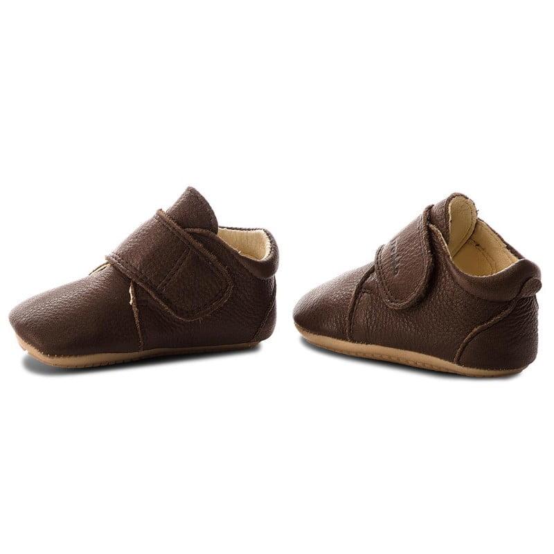 Pantofi barefoot din piele pentru primii pași brown Froddo 2