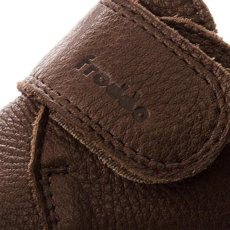 Pantofi barefoot din piele pentru primii pași brown Froddo 3