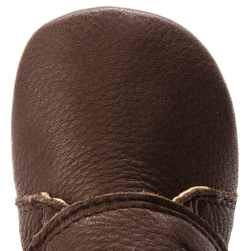 Pantofi barefoot din piele pentru primii pași brown Froddo 4