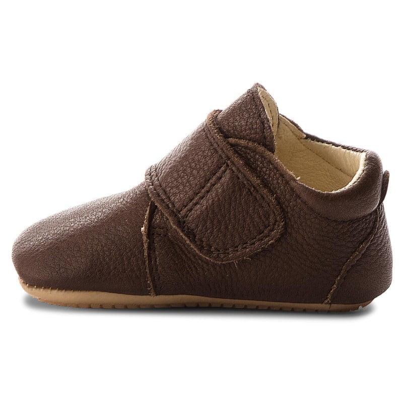 Pantofi barefoot din piele pentru primii pași brown Froddo 5