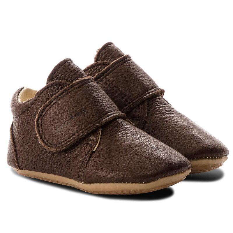 Pantofi barefoot din piele pentru primii pași brown Froddo 7