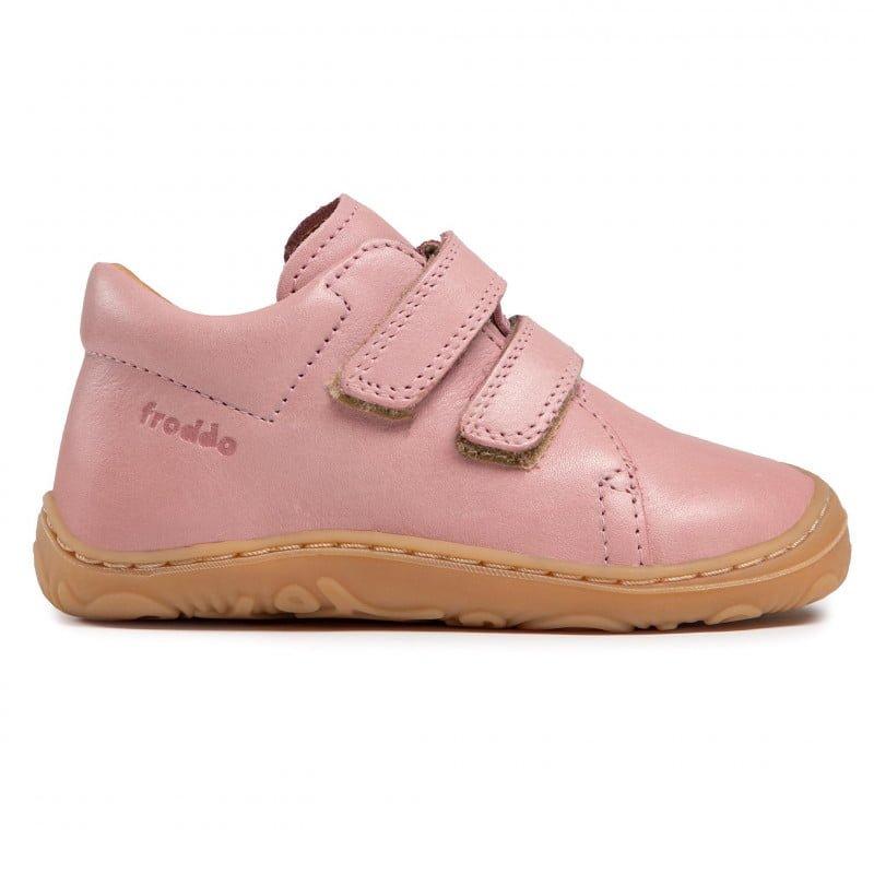 Pantofi din piele cu talpă extra flexibilă Froddo Pink 2