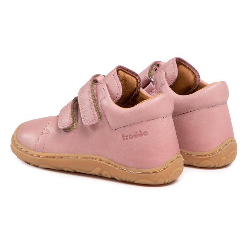 Pantofi din piele cu talpă extra flexibilă Froddo Pink 3