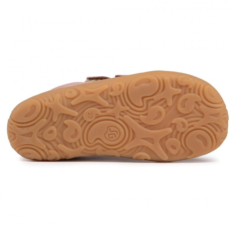 Pantofi din piele cu talpă extra flexibilă Froddo Pink 4